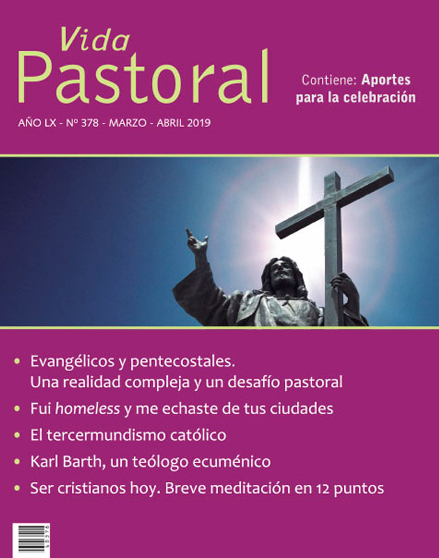 VIDA PASTORAL DIGITAL N° 378 - Marzo/Abril 2019